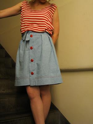 Wiksten Tulip Skirt Sew Tessuti Blog