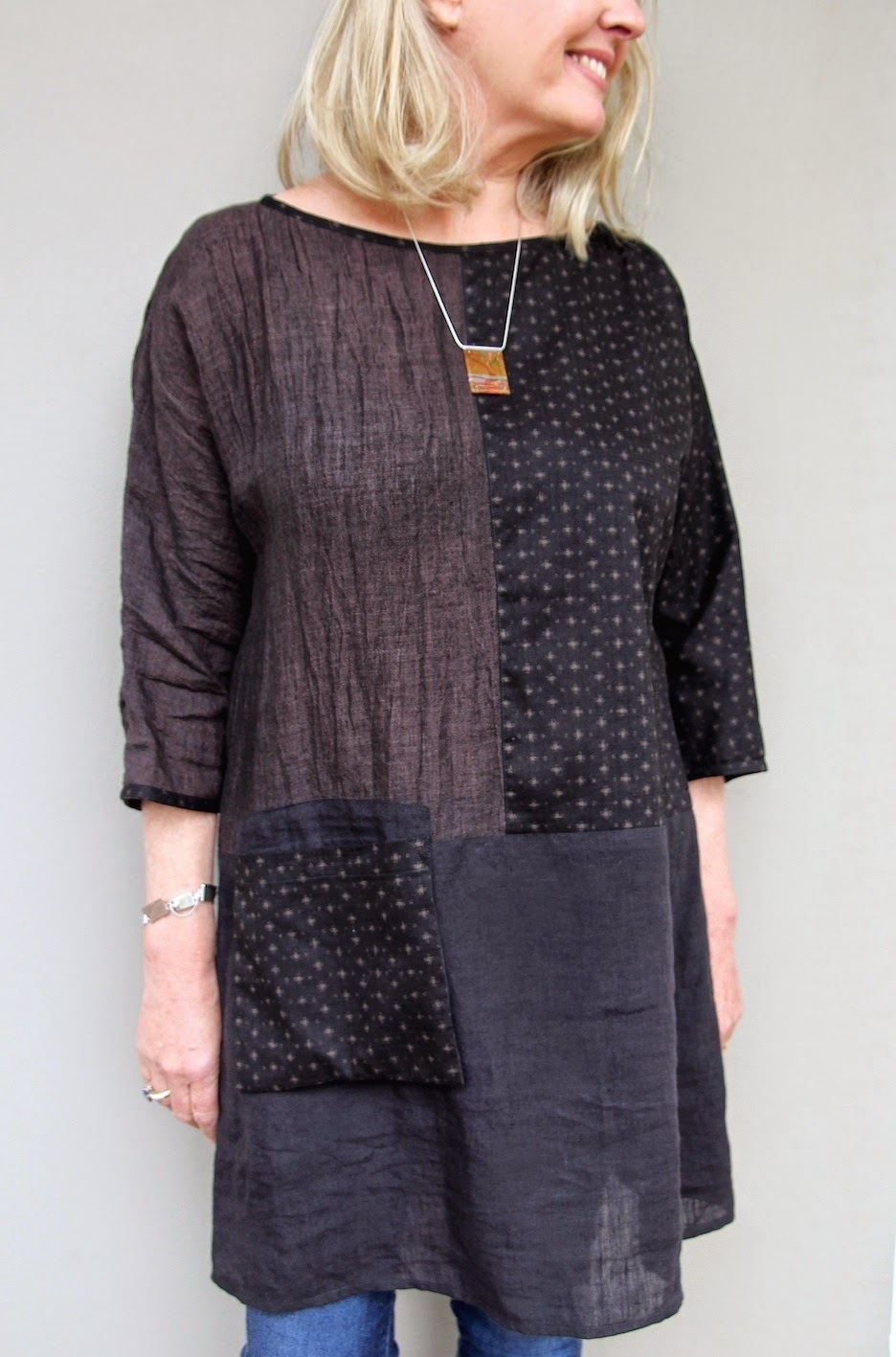 Our New Pattern The Ola Tunic Top Sew Tessuti Blog