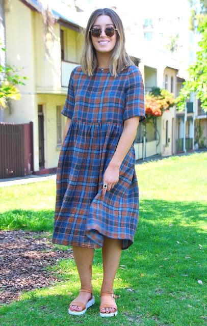Pinterest inspired Ottavio Crinkle Dress