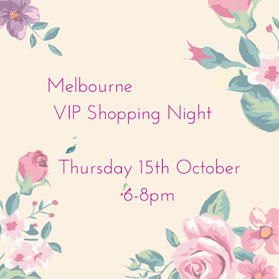 Melbourne VIP Shopping Night