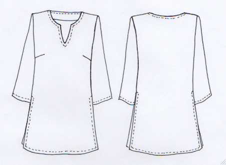 Introducing our NEW Maggie Tunic Pattern - Sew Tessuti Blog