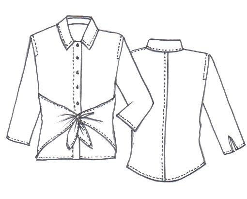 NEW Audrey Shirt Pattern - Sew Tessuti Blog