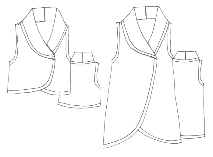 Vest Patterns For Sewing Image collections - origami instructions ...