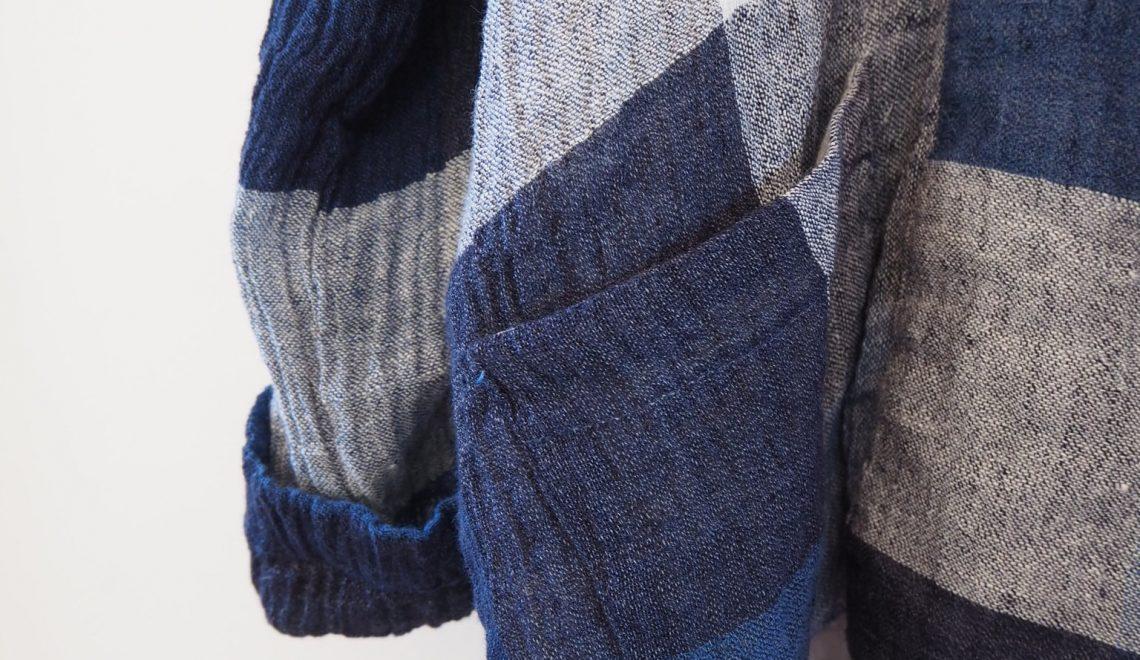 My Wiksten Kimono Jacket in Crinkle Linen