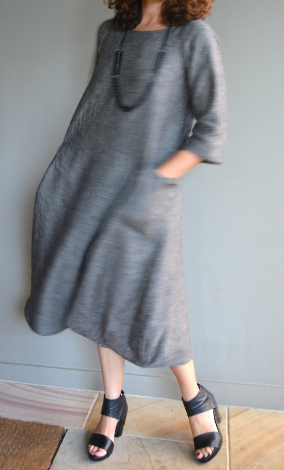 NEW) Lily Linen Dress Pattern Sew Tessuti Blog