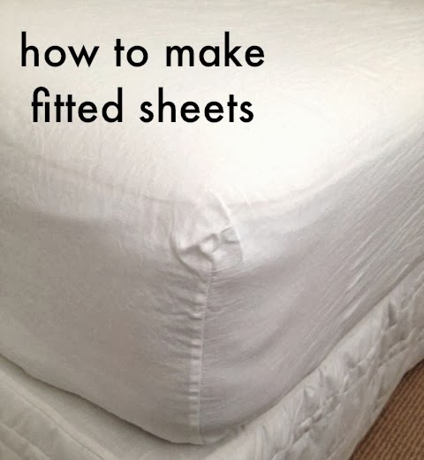 Tutorial: How To Make Your Own Fitted Sheets