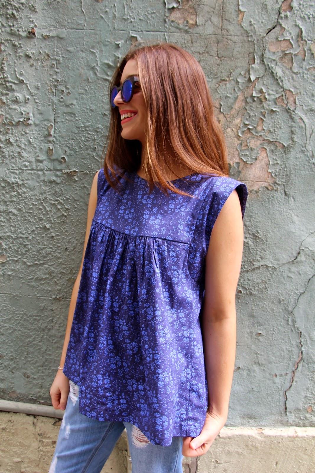 c8820e0c65 Our latest pattern - The Alice Dress Top - Sew Tessuti Blog
