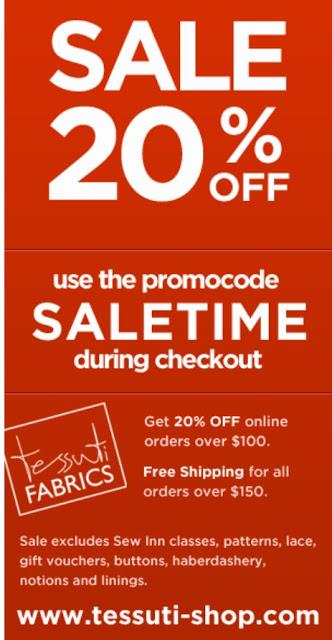 Online Sale – FINAL DAYS!