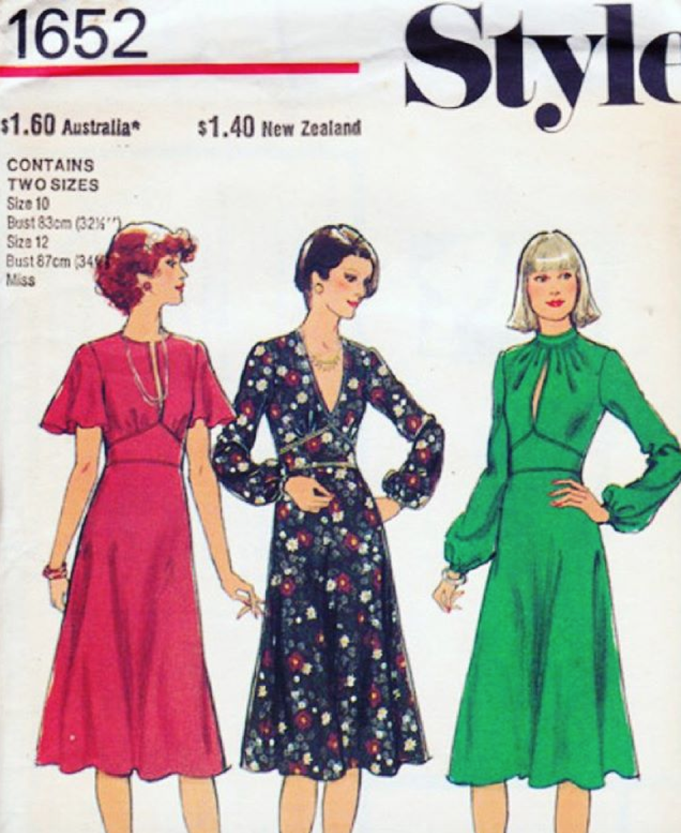 Vintage Look Dress Patterns