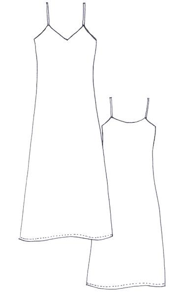 new our sadie slip dress pattern sew tessuti blog