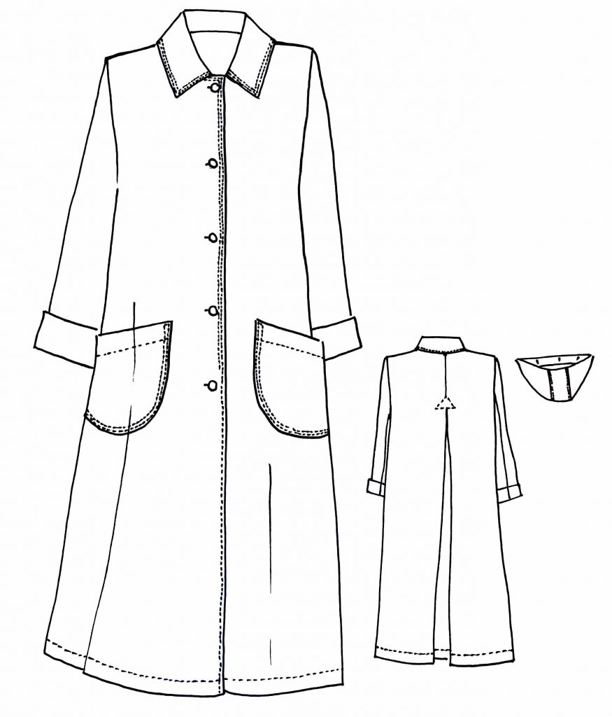 Our New Pattern The Melbourne Trench Coat Sew Tessuti Blog