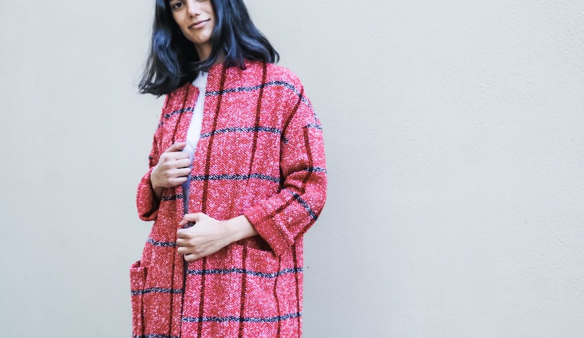Sewing the Florence Coat in woven fabrics