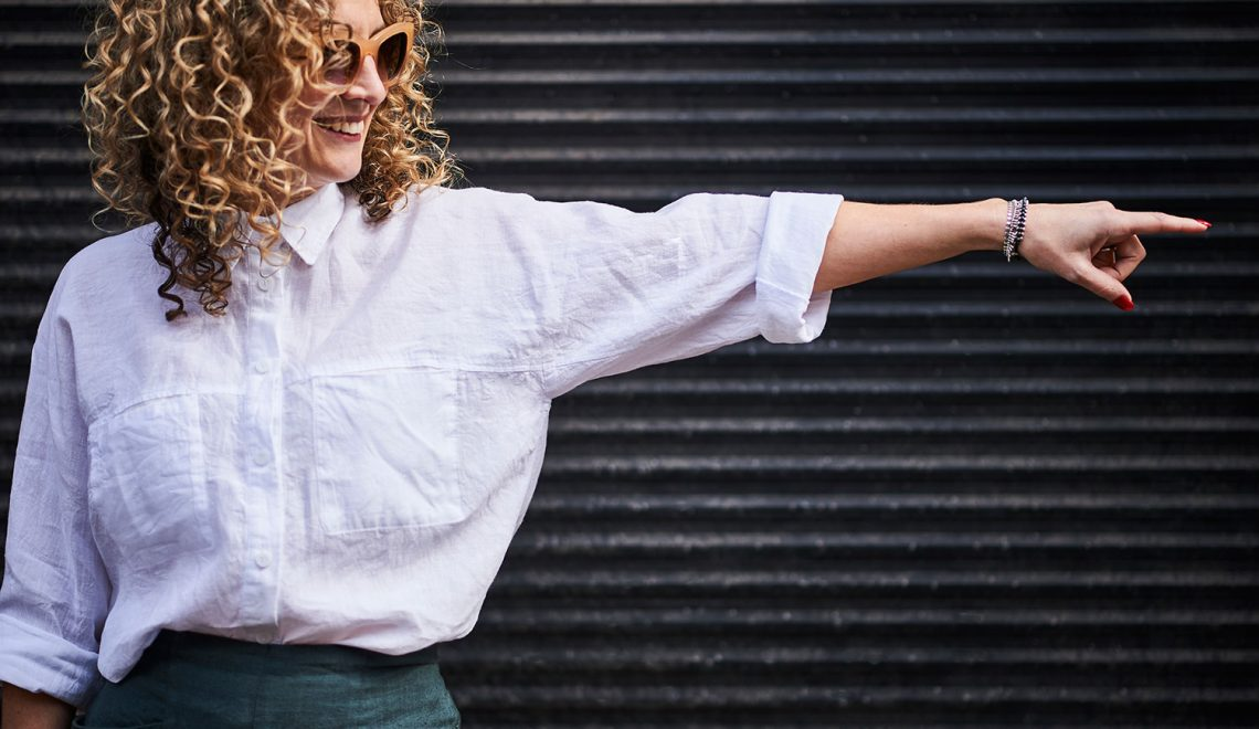 The Olya Shirt by Paper Theory Designs