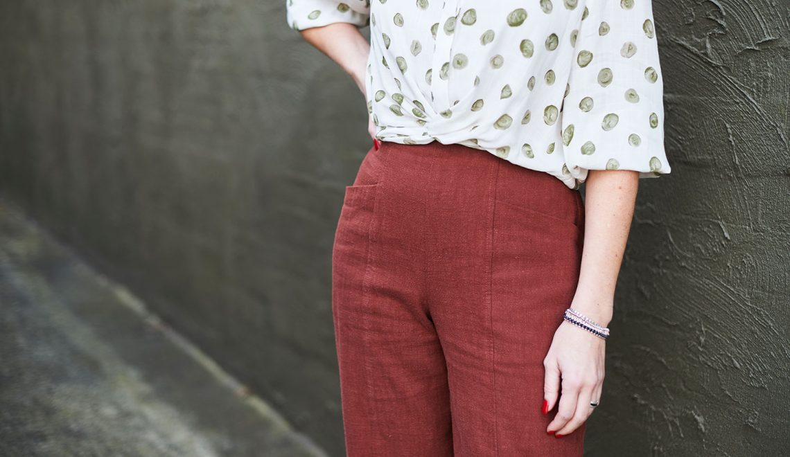 The Pietra Pants by Closet Case Patterns