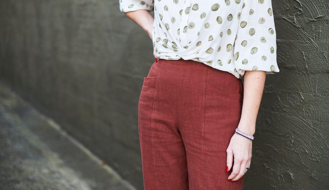 The Pietra Pants by Closet Case Patterns
