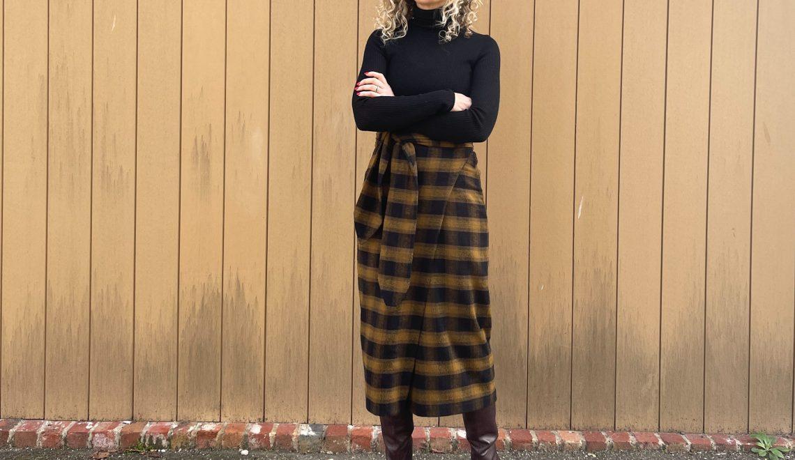 The Aura Skirt By Papercut Pattens
